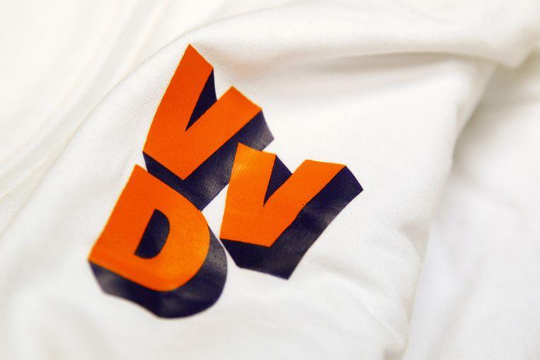 Het logo van de VVD, afbeelding ter illustratie Beeld ANP