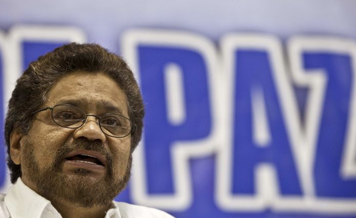 Ivan Marquez, oud-commandant van de FARC.