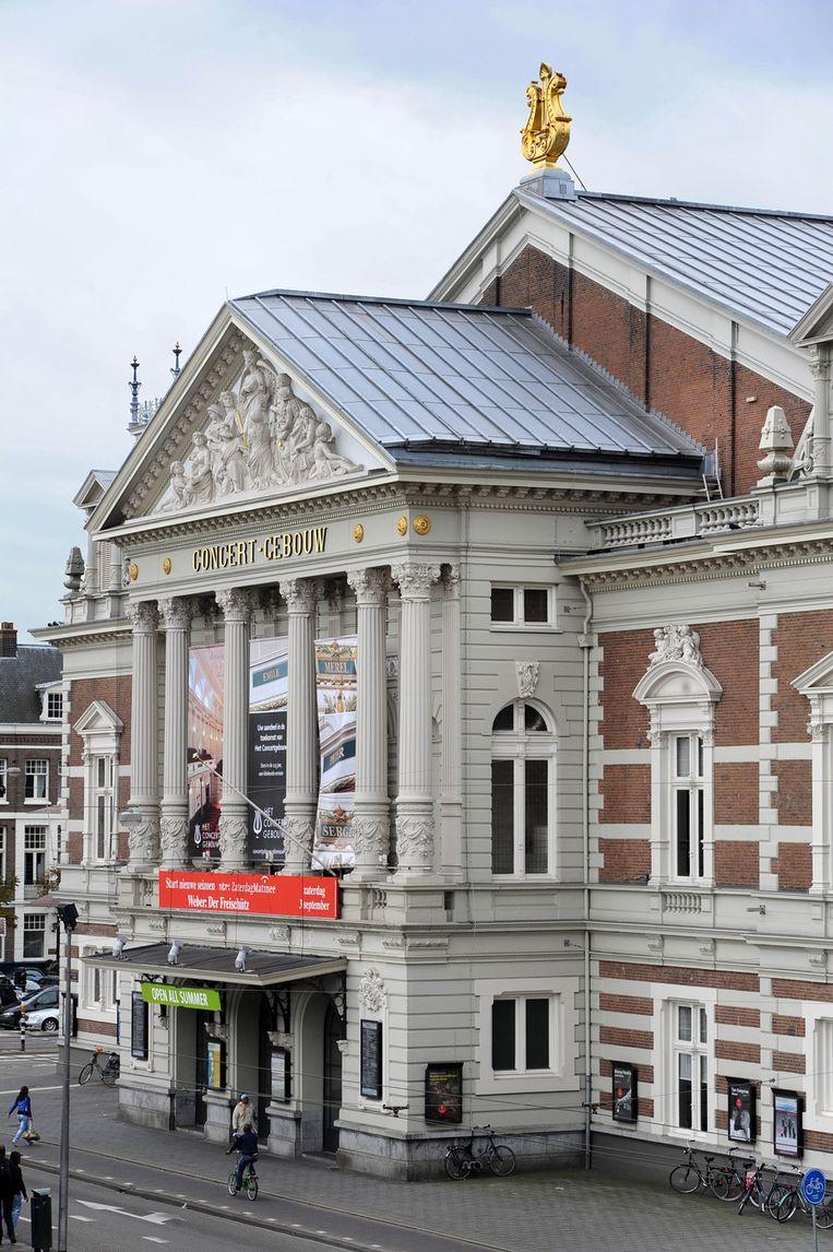 Zaterdag speelt het studentenorkest om 20.15 uur in het Concertgebouw. Beeld ANP