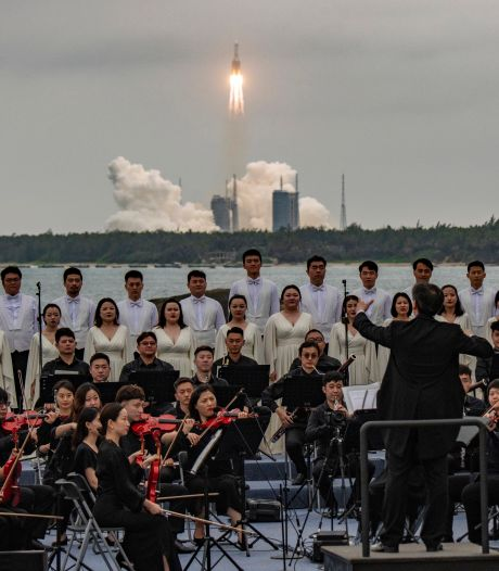 Amerikanen zullen Chinese raket niet neerschieten als die op aarde crasht