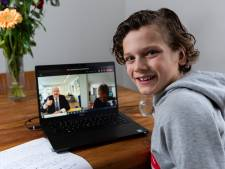 Fabian (10) wil burgemeester worden, Jan van Zanen vertelt hem dat hij bijna koos voor stratenmaker