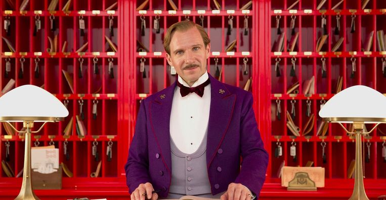 Ralph Fiennes in The Grand Budapest Hotel. Beeld