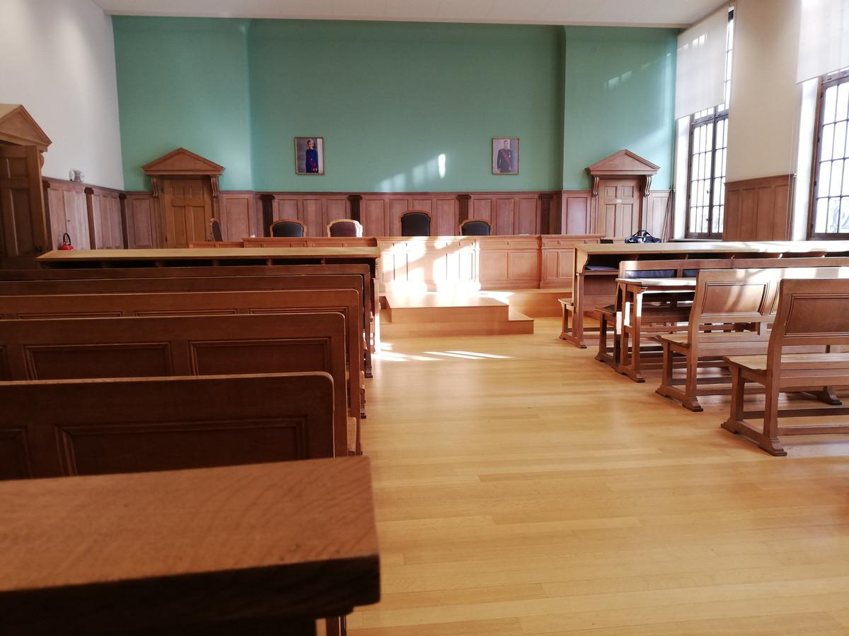 De rechtbank in Kortrijk.