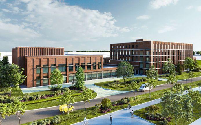 Zo zal het nieuwe productiecentrum van Janssen Pharmaceutica in Zwijnaarde eruit zien