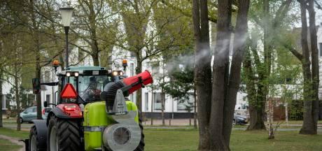 Bestrijding eikenprocessierups kostte eikenbomenrijke Vught vorig jaar 160.000 euro; 'aaltjes' zijn wel tien keer duurder