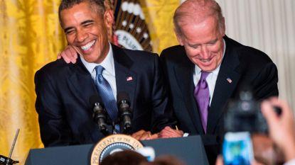 Oud-president Obama steunt Democratisch kandidaat Biden