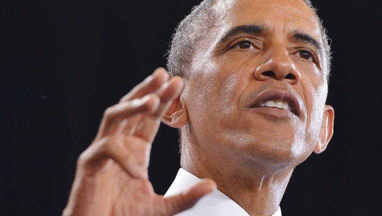 Barack Obama. Beeld AFP
