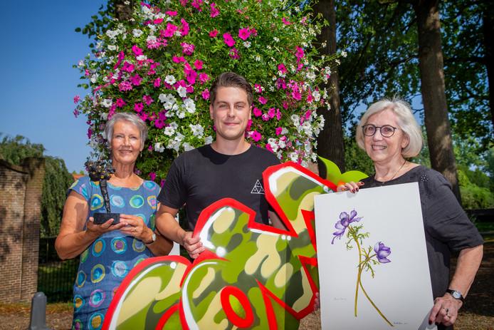 Margreet van der Meij Sander Dolstra en Ria van Elk presenteren zich zondag in Kunsthuis Wijchen