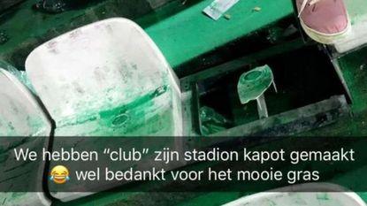 Cercle keurt vandalisme eigen fans af