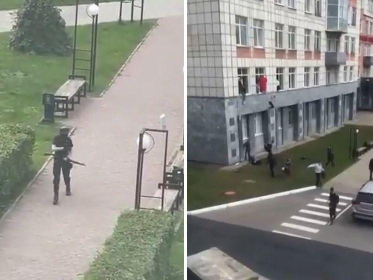 Acht doden schietpartij Rusland; studenten springen uit raam