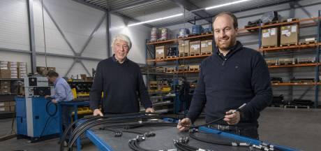 Heuver Hydrauliek in Rijssen: van vader op zoon gegroeid tot een volwassen bedrijf