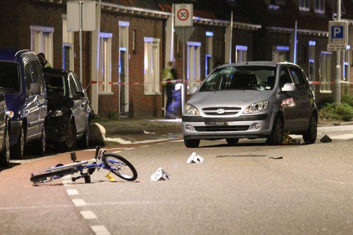 Het ongeluk vond plaats op de Langevieleweg in Middelburg.