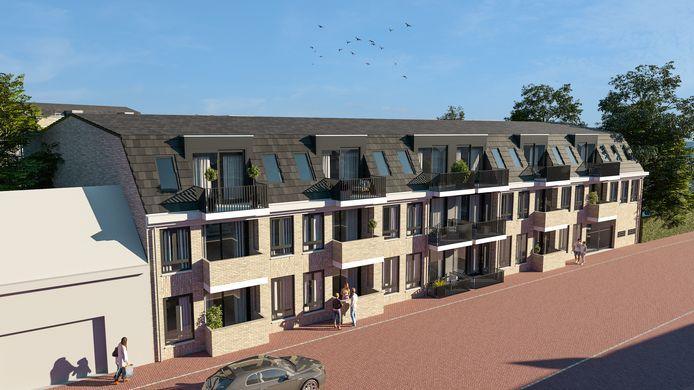 Hartje Steenbergen is een nieuwbouwproject waarbij 29 appartementen verdeeld over twee gebouwen worden gebouwd.