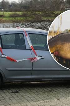 Auto van karpervisser (28) uit Deventer verwoest in Olst: 'Mensen willen niet dat je in hun water vist'