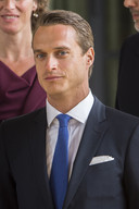 Arthur Wellesley, markies van Douro, een nazaat van de hertog van Wellington.