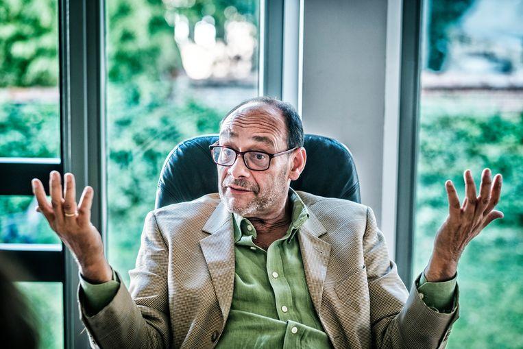 Grondwetspecialist Marc Uyttendaele. Beeld Tim Dirven