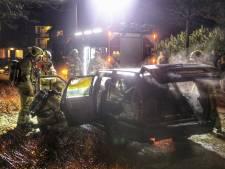 Andermaal autobrand in Driebergen
