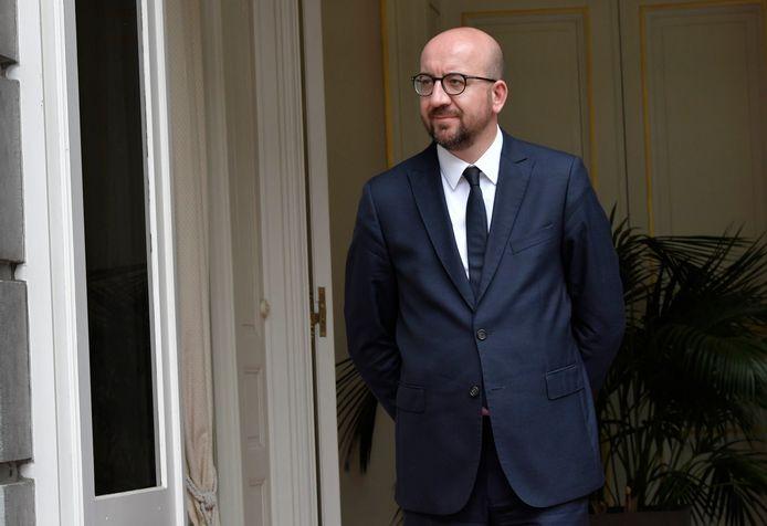 """Premier Charles Michel noemde artikel 3 van het EVRM eerder een """"heilig principe""""."""