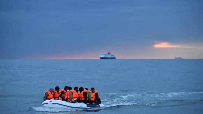 Recordaantal migranten probeerde zaterdag Kanaal over te steken