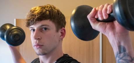 Brendan Meulmeester traint in deze tijd óók voor zijn zelfvertrouwen
