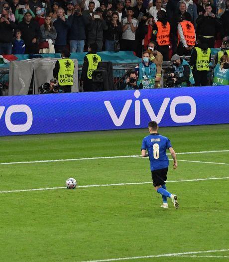 Specialist Donny Gorter genoot van strafschoppenapotheose op Wembley: 'Jorginho wordt ook voor 200.000 mensen niet zenuwachtig'