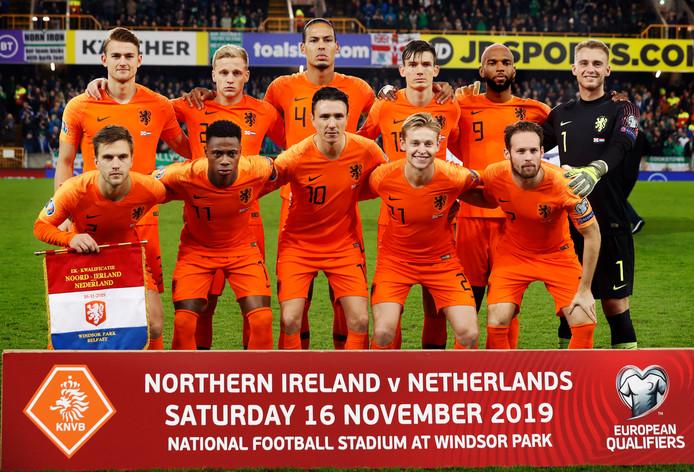 Oranje doet komende zomer eindelijk weer mee aan een eindtoernooi.