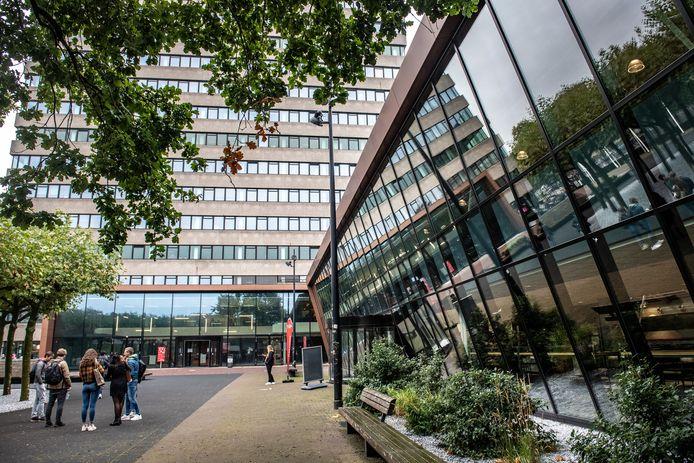 Nijmegen/Nederland: Erasmusplein Radboud Universiteit Dgfoto Foto: Bert Beelen
