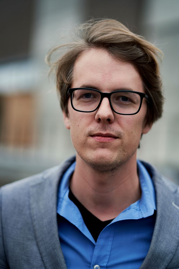 """Maarten Boudry: """"Ik zie mezelf als eerder links-progressief. Maar ik vind het vervelend om dat telkens te moeten benadrukken."""" Beeld Joris Casaer"""