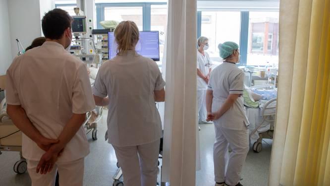 OVERZICHT. Gemiddeld aantal hospitalisaties daalt verder, andere cijfers stijgen licht