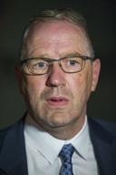 SGP-wethouder Geert Post direct na de vergadering over zijn functie.