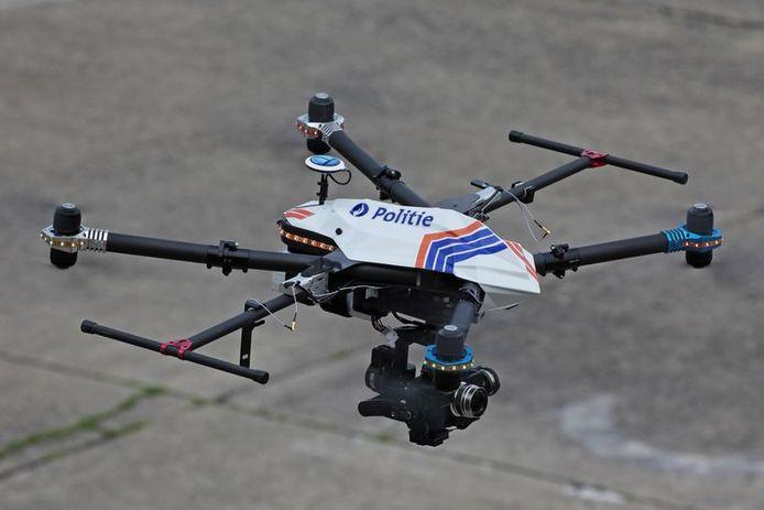 Illustratiebeeld  van een drone voor de politie.