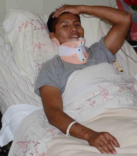 Wonder: man die vliegtuigcrash Chapecoense overleefde ontsnapt opnieuw aan de dood
