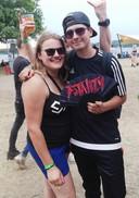 Rik en Sanne, op het festival Fatality