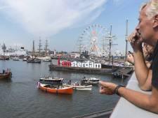 Crew laat zich zien op derde dag Sail