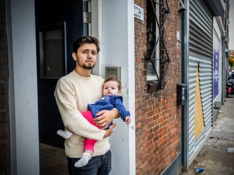 Alleen baby van Ntoan bleef lachen toen iedereen in paniek was door brand bij Poolse bakkerij