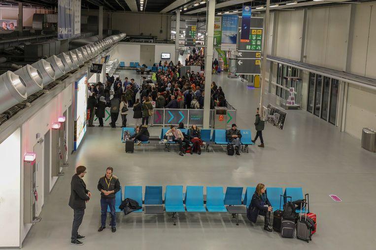 Frankfurt Hahn Airport.