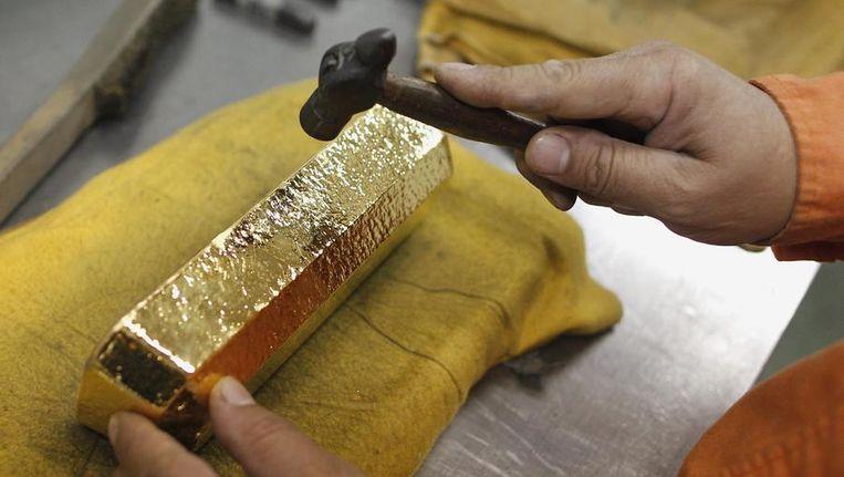 Een goudstaaf. Beeld reuters