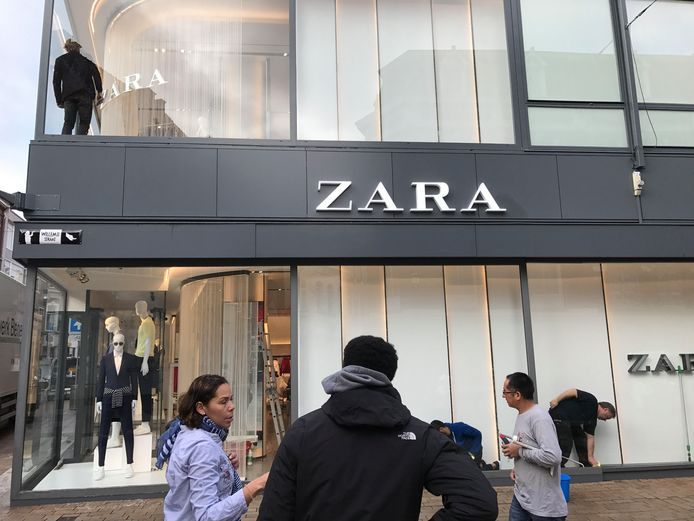 De nieuwe Zara aan de Heuvelstraat.
