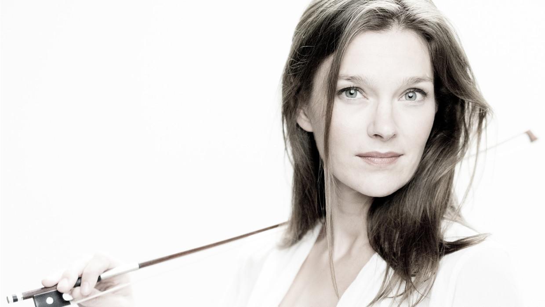 Janine Jansen. Beeld Marco Borggreve