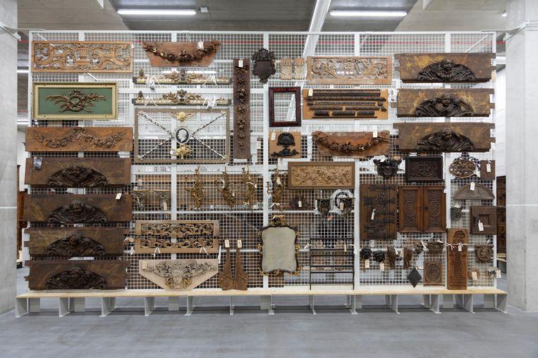 Kunst in het nieuwe CollectieCentrum  Beeld NL