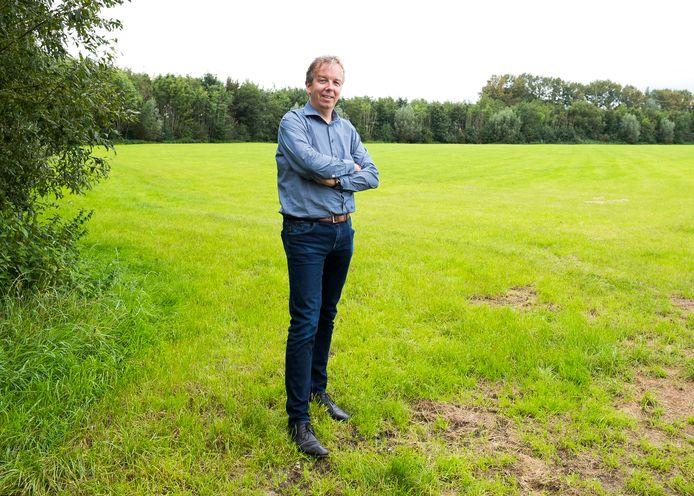 Zeistenaar Hans Bastianen van werkgroep De Groene Driehoek is teleurgesteld dat samenwerking met de gemeente rond de spoorzone A12 is mislukt.