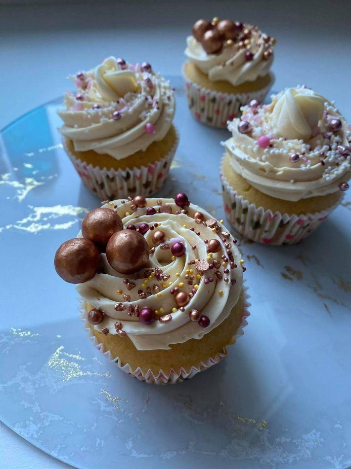 Prachtige cupcakes van The Sweet House.