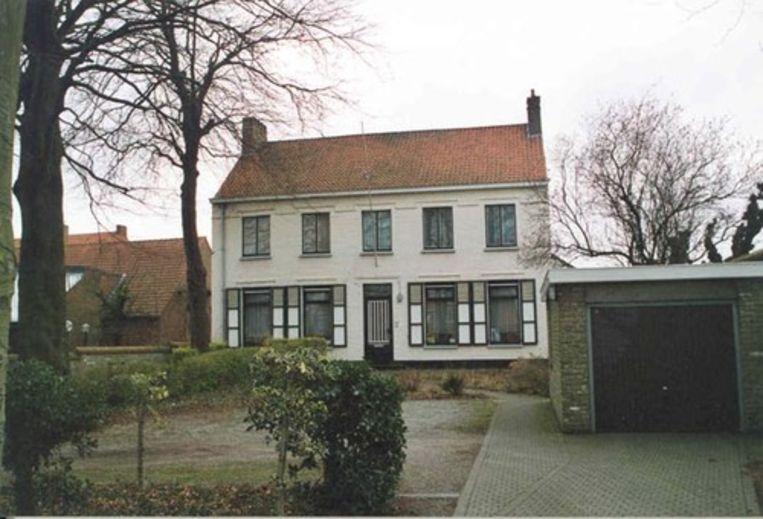 De pastorie langs de Blankenbergse Steenweg
