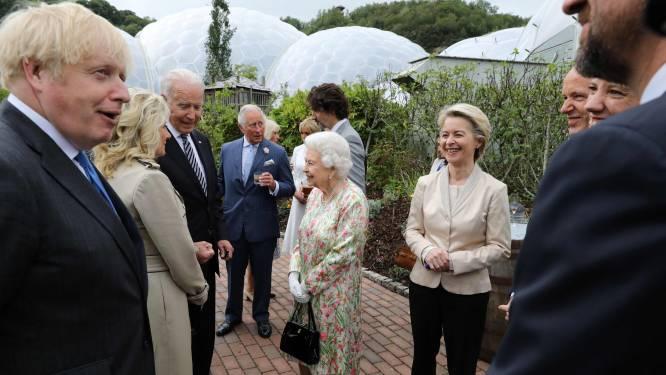 Eerste dag G7: meer geld in economie, vaccins naar arme landen en receptie met The Queen