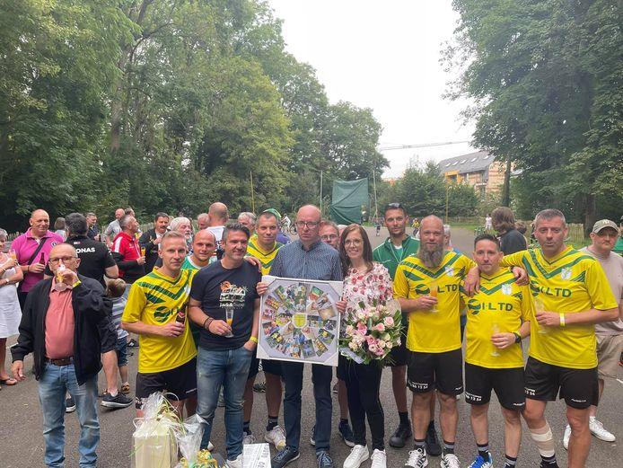 De Koninklijke Kaatsclub Amis Réunis Buizingen zette er dit weekend een punt achter na 79 jaar.