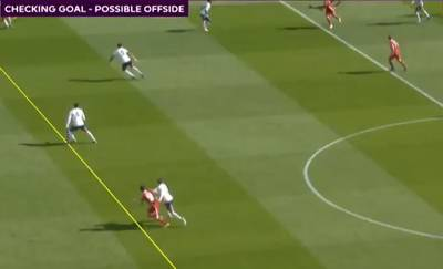 Un hors-jeu (quasiment) indétectable fait débat lors de Liverpool-Aston Villa