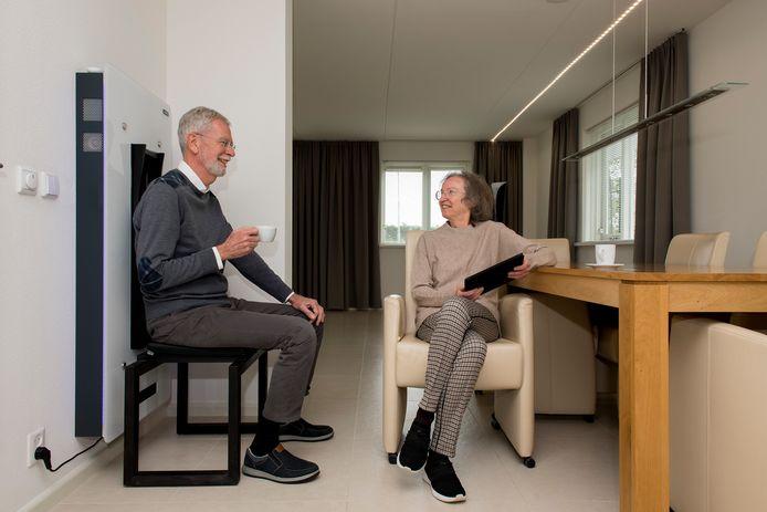 Joep Hamerlinck en Judith Wikaart.