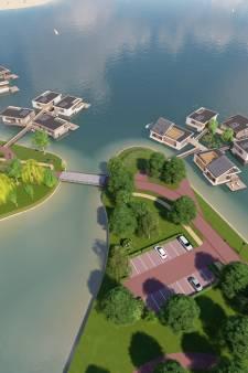 Nijmegen wil in 2020 start maken met 25 drijvende villa's in Lentse Plas