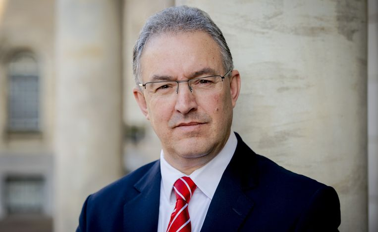Burgemeester Ahmed Aboutaleb van Rotterdam Beeld anp