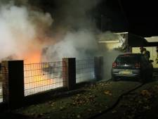 Busjes vlak na elkaar in vlammen op in Asten en Deurne, politie ziet voorlopig geen verband
